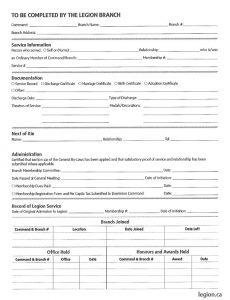 Membership Form 2