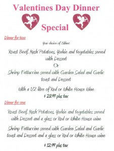 Valentine Menu New