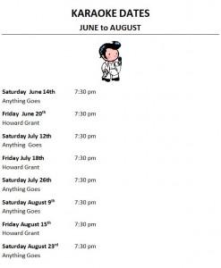 karaoke dates